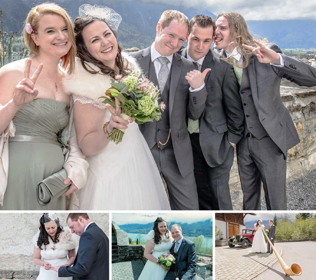 Wedding in Interlaken of Veronika and Gareth