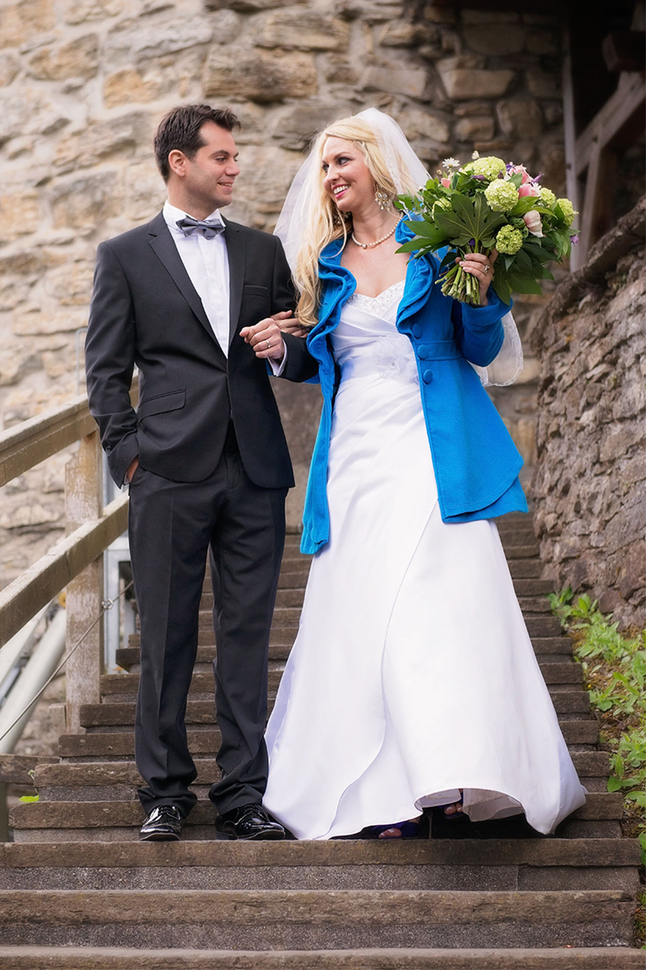 Bridal photo shoot Interlaken