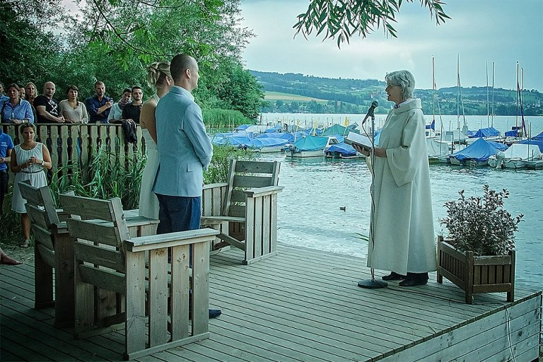 Wedding in Restaurant Seeland Sempach