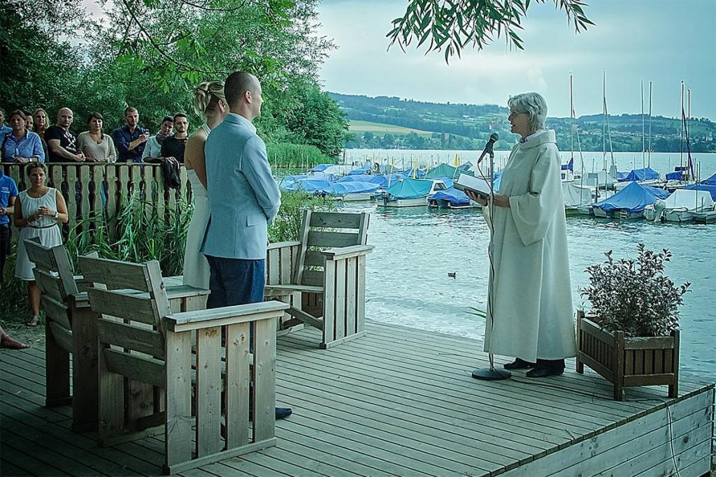 Wedding in Restaurant Seeland Sempach
