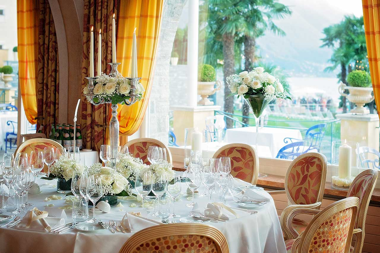 Wedding In Eden Roc Hotel Ascona