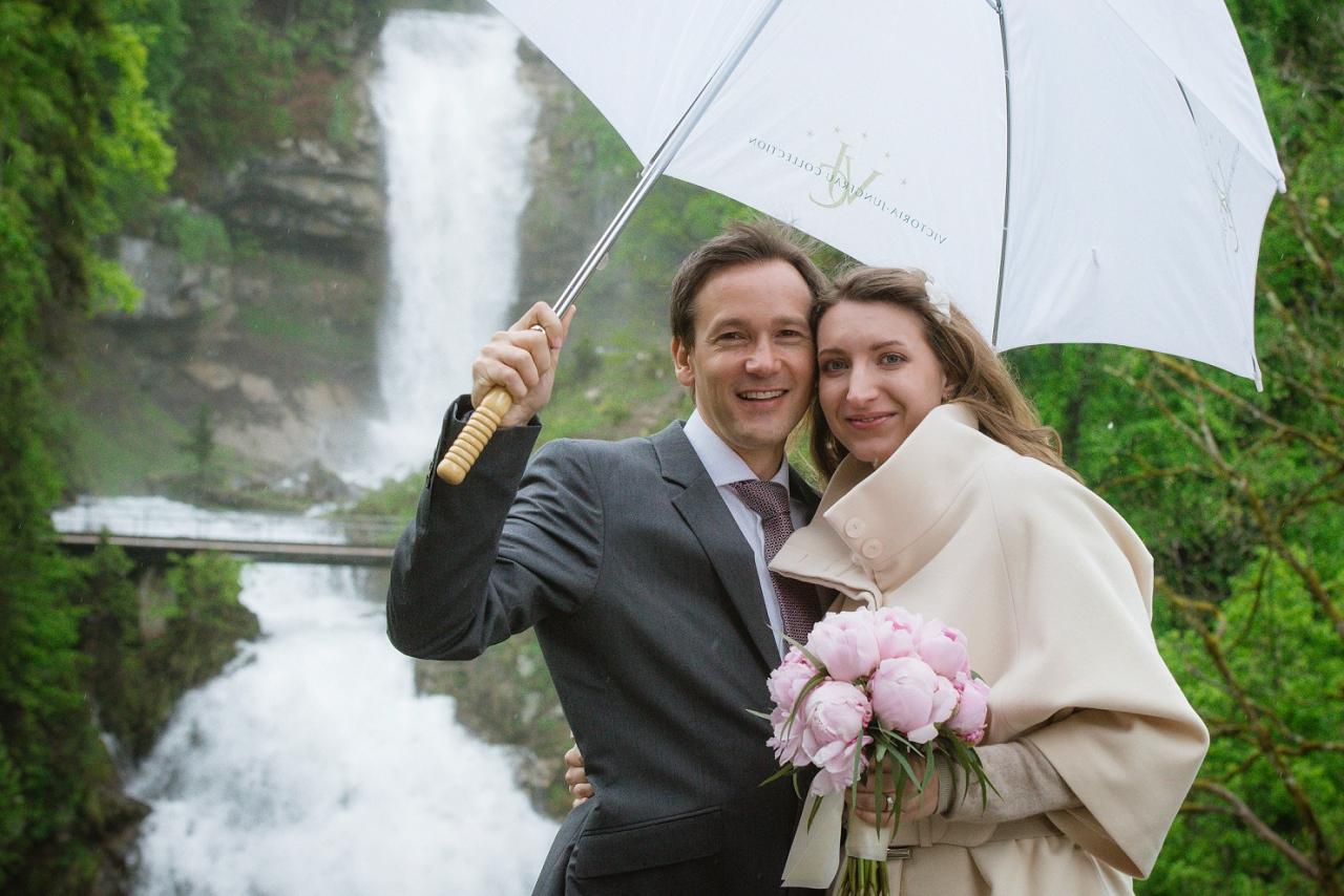 Wedding at Grand Hotel, Giessbach