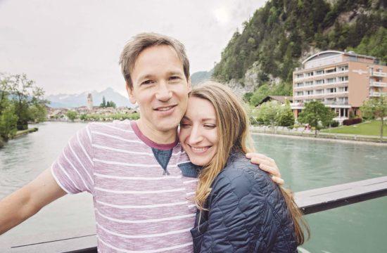 Prewedding photoshoot in Interlaken