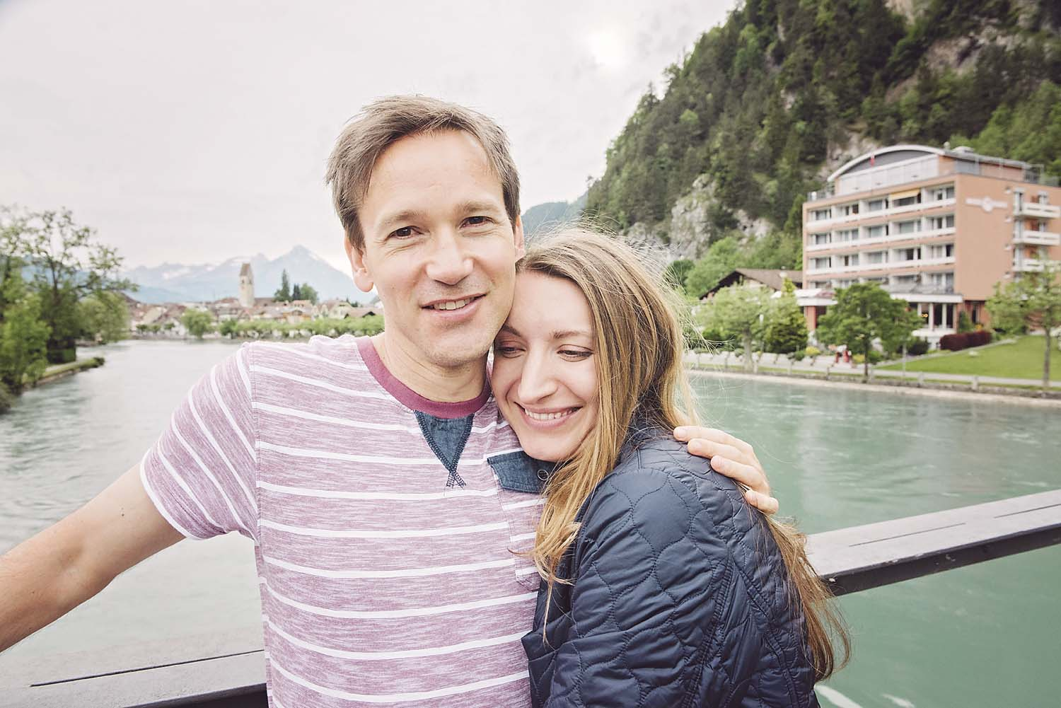 Prewedding photoshoot in Interlaken