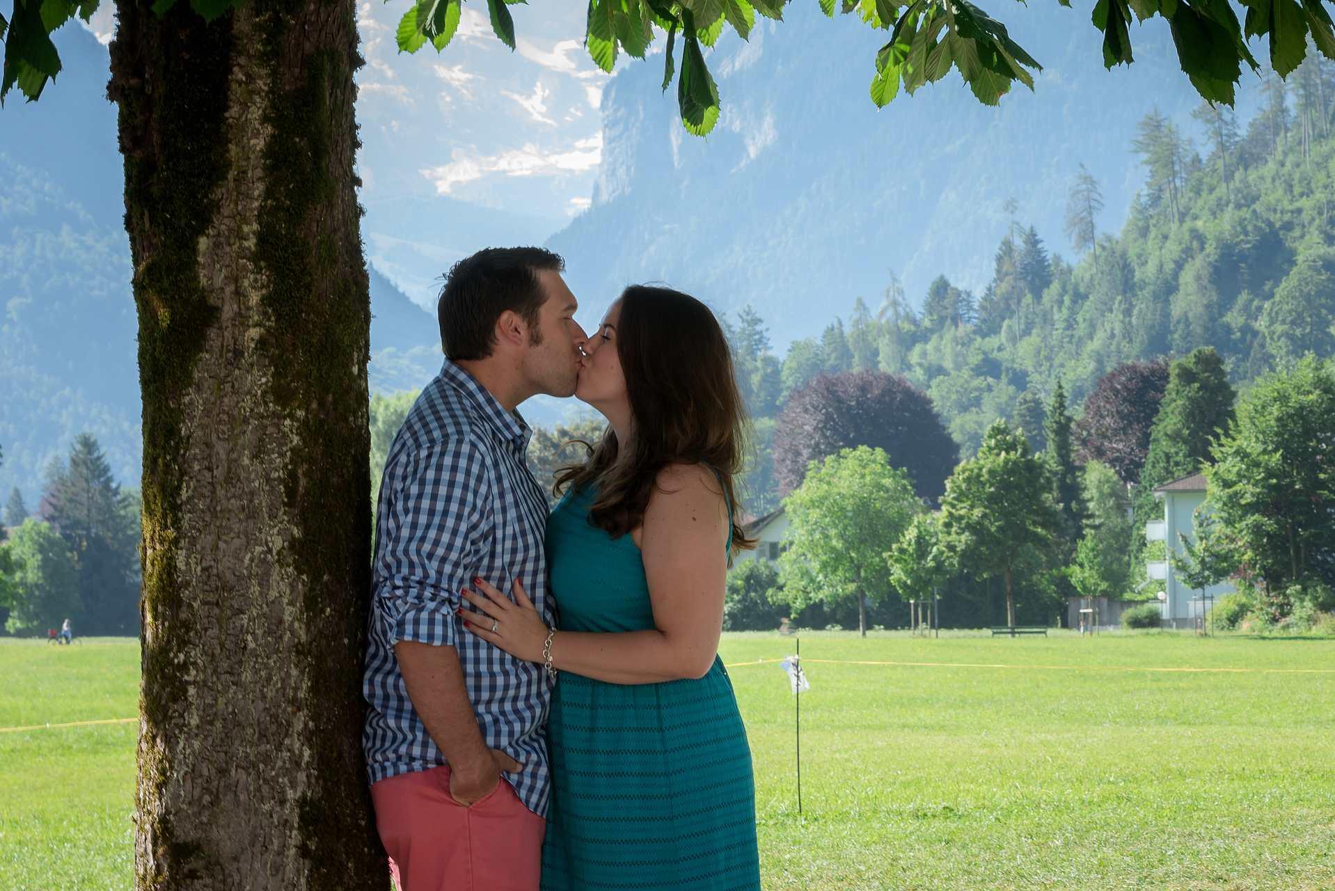 Couple photo shoot in Interlaken