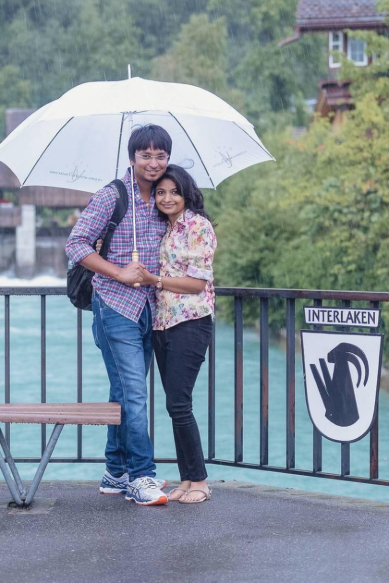 Couples photo shoot in Interlaken, Switzerland