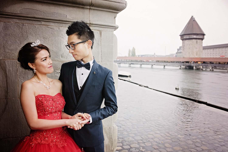Wedding photographer in Lucerne