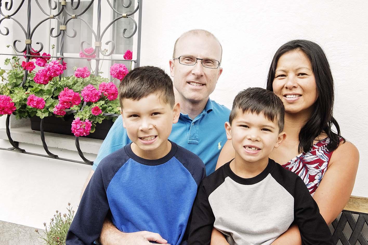 Canadian family photo-shoot