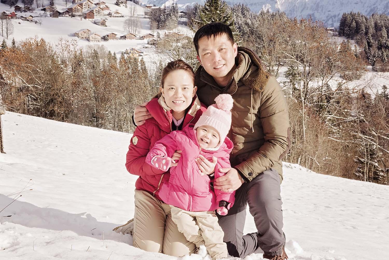 Family Photo Shoot near Interlaken, Switzerland