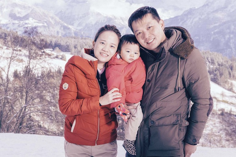 Family Photo Shoot near Interlaken, Switzerland