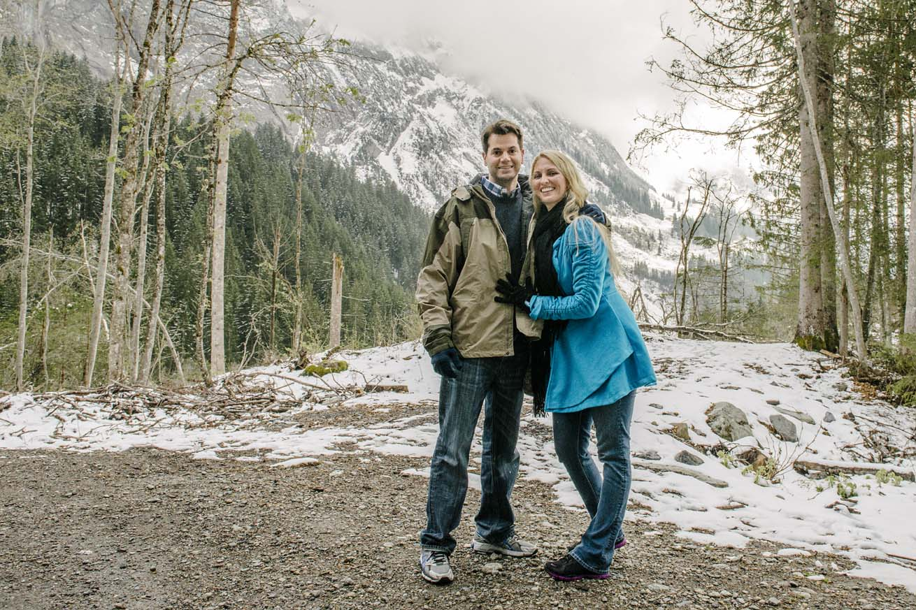 Couple photo shoot in Grindelwald 1