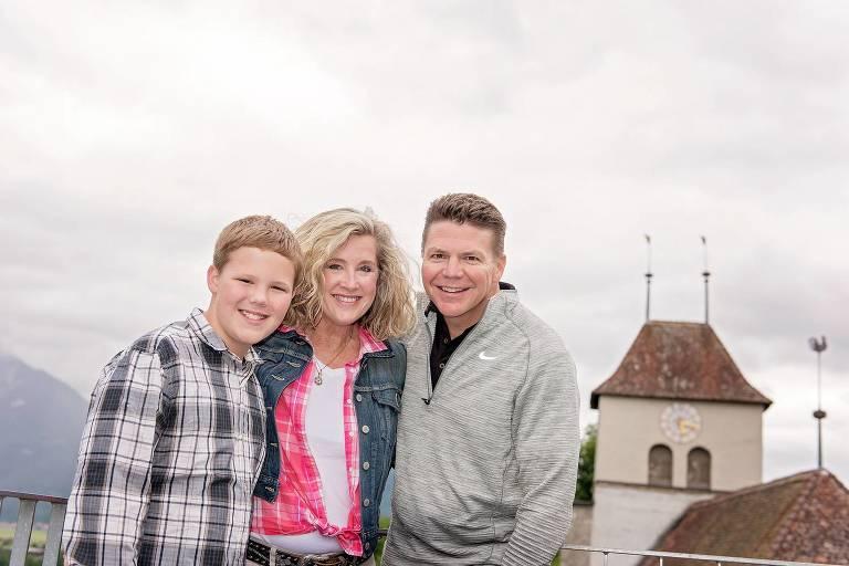 family photo shoot in Interlaken