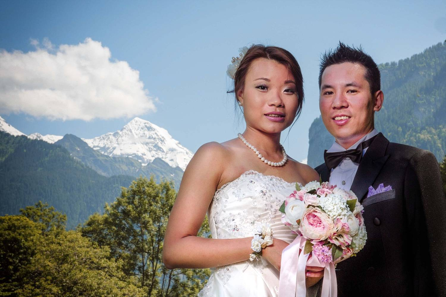 chinese pre wedding photo shoot