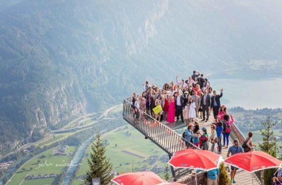 Wedding on the Harder Kulm