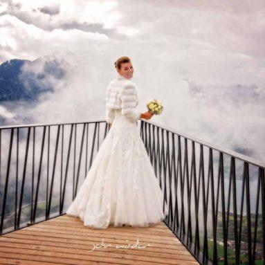 Hochzeit auf dem Harder Kulm