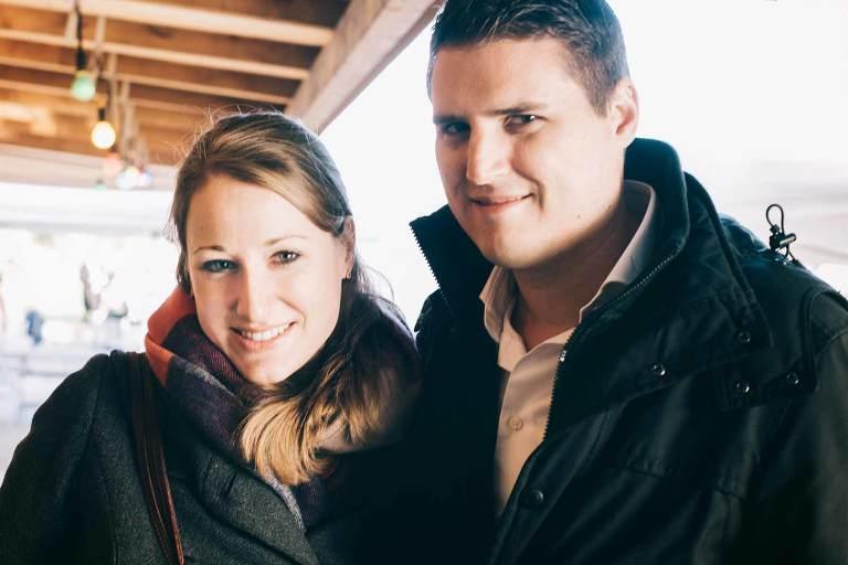 Couple photo shoot near Zurich