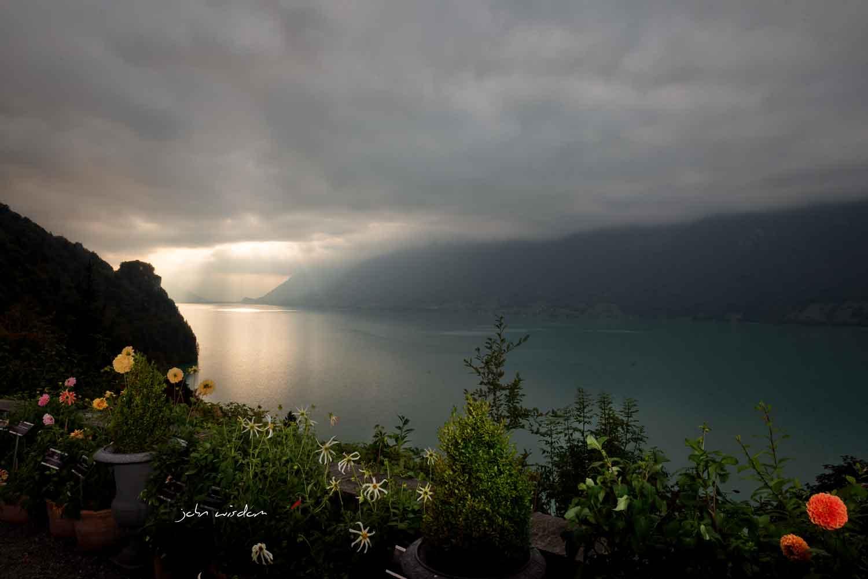 Wedding at the Grand Hotel, Giessbach, Switzerland