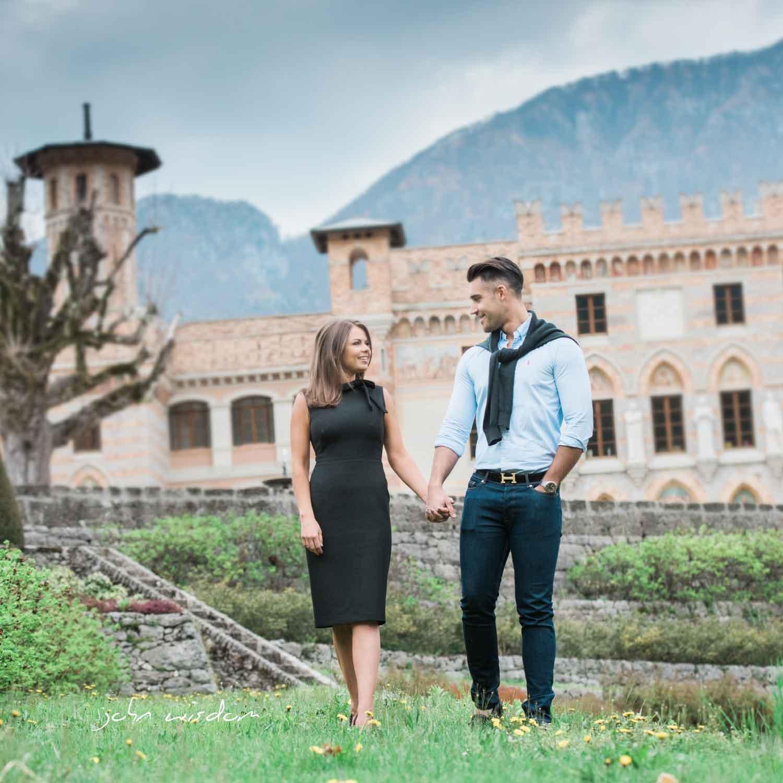 Couple photo shoot in Italy