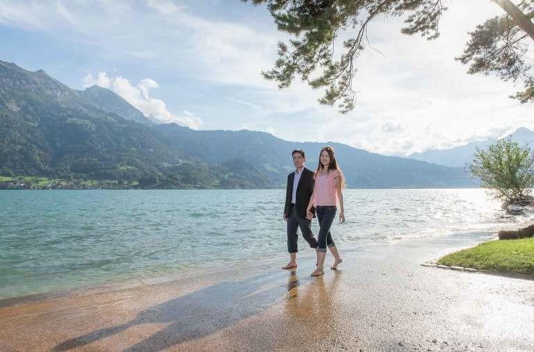 Couples photo shoot, Interlaken, Switzerland