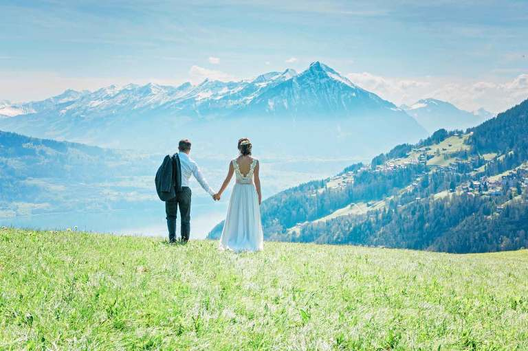 Wedding photographer in Switzerland