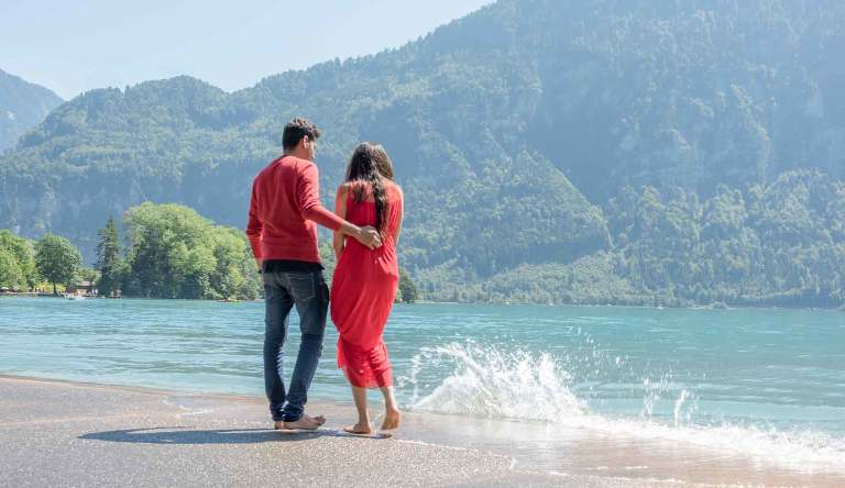Couples photo shoot, Interlaken, Switzerland