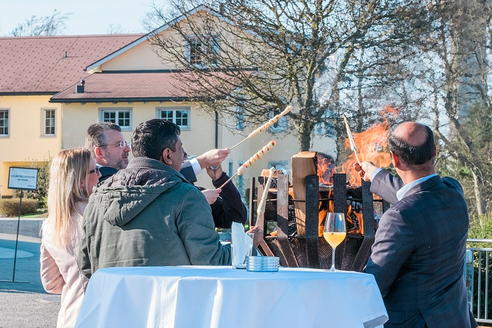 Corporate party on the Uto Kulm
