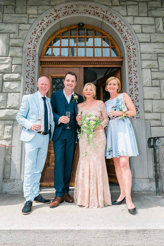 Wedding near Lucerne