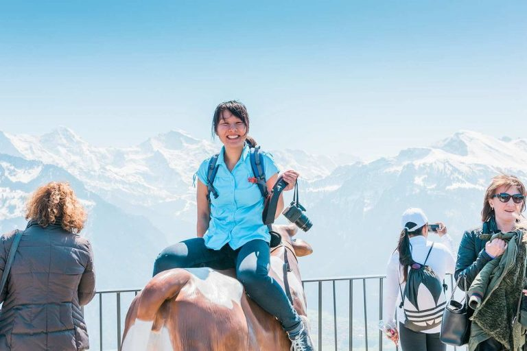 Cowgirl on the Harder Kulm