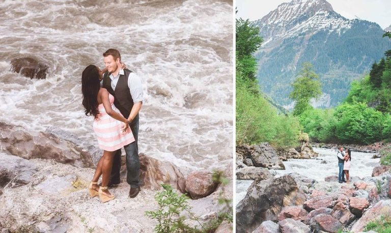 Photographer Interlaken for an engagement session