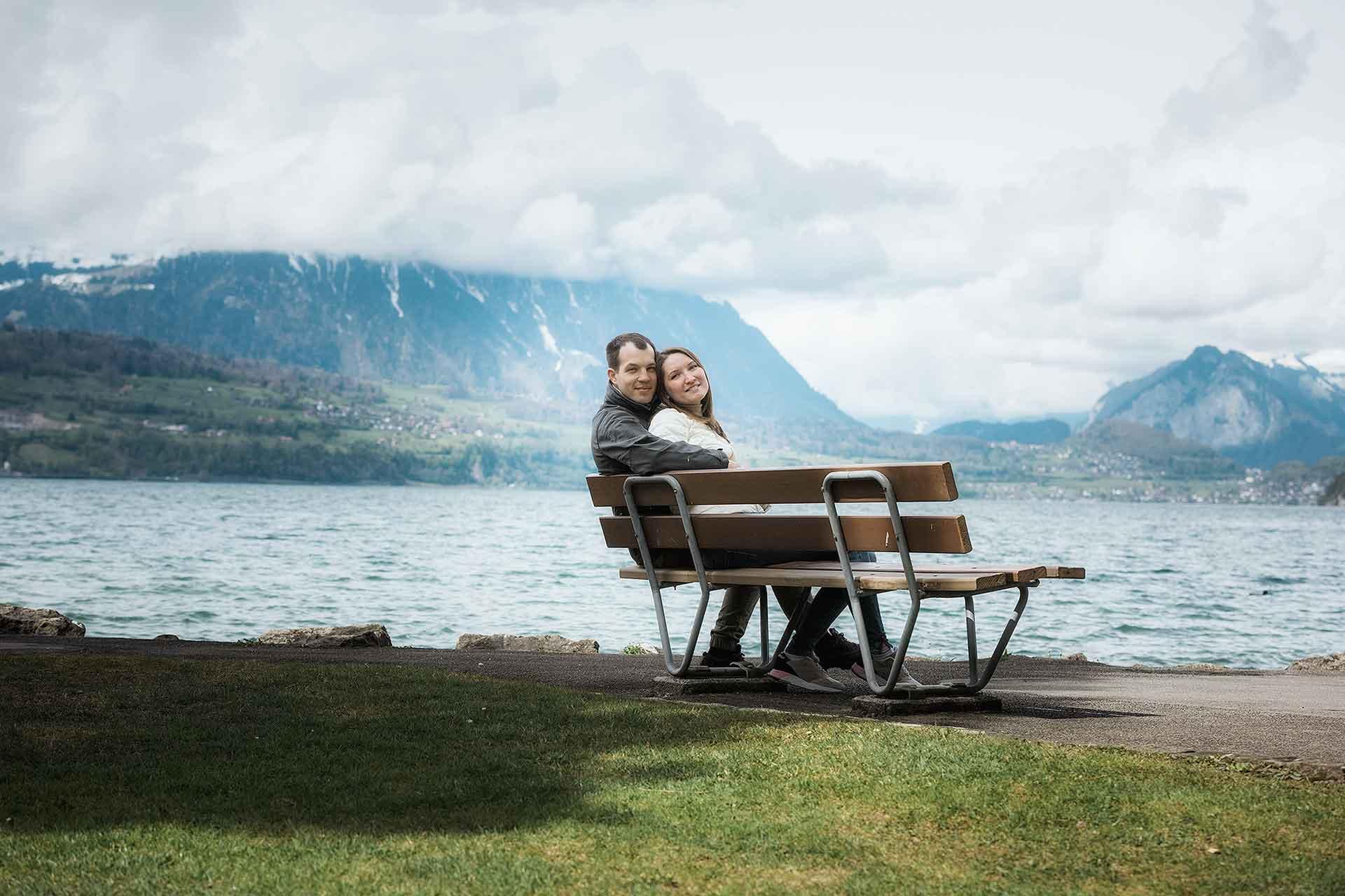 Russian couple photo shoot