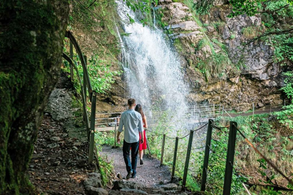 Waterfall in Giessbach