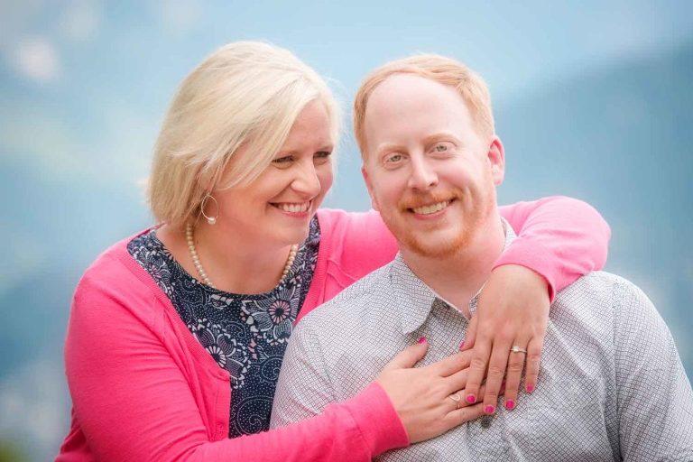 Couple from Houston, Texas photo shoot Interlaken