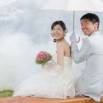 Japanese bridal photo shoot