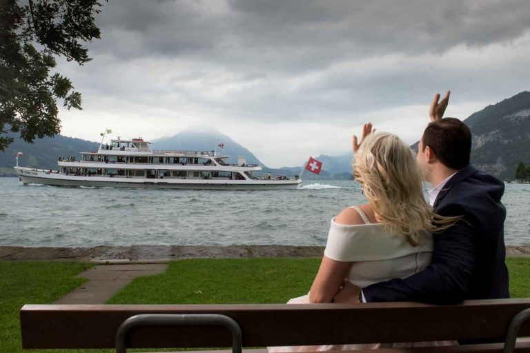 Engagement Photo Session Interlaken Switzerland