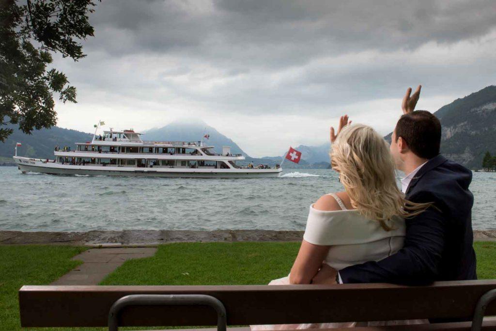 Engagement Photo Session Interlaken Switzerland