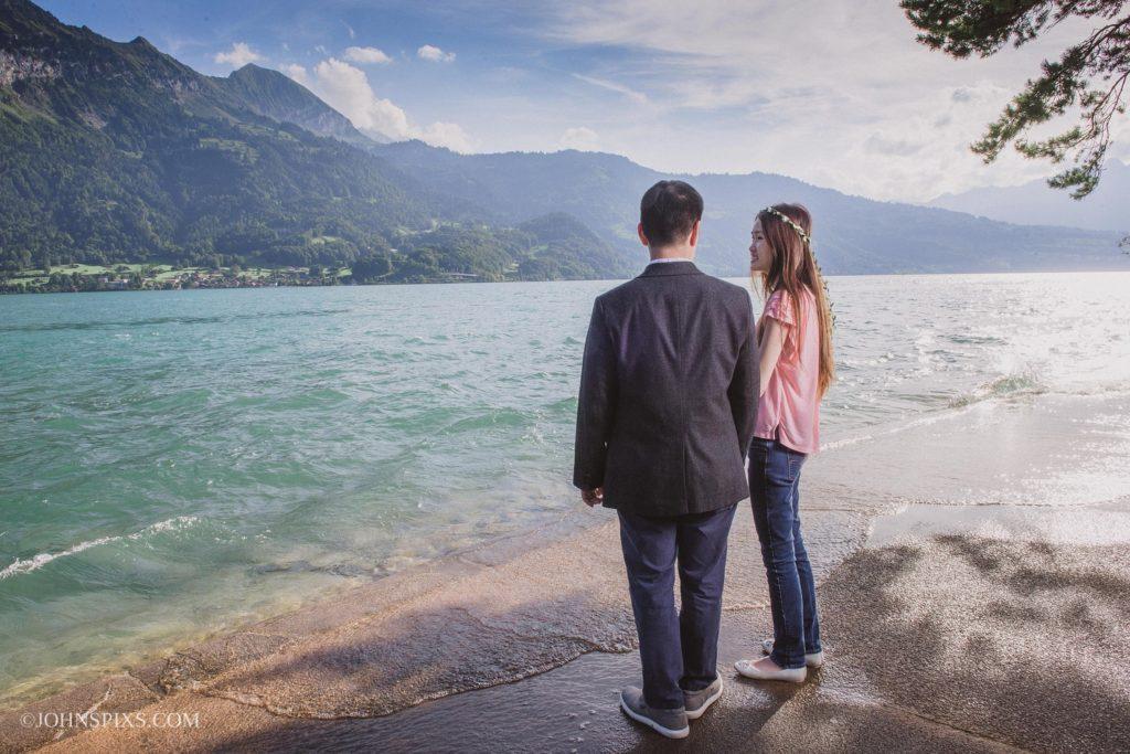 Honeymoon couple photo shoot