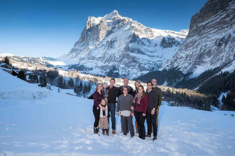 Family Photo Shoot in Grindelwald, Switzerland