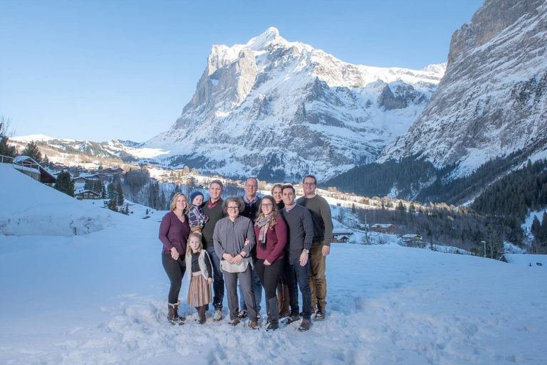 Family Photo Shoot Grindelwald