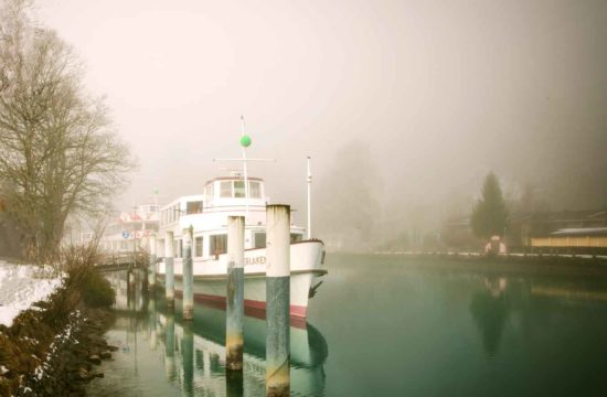 Misty Day in Interlaken, Switzerland