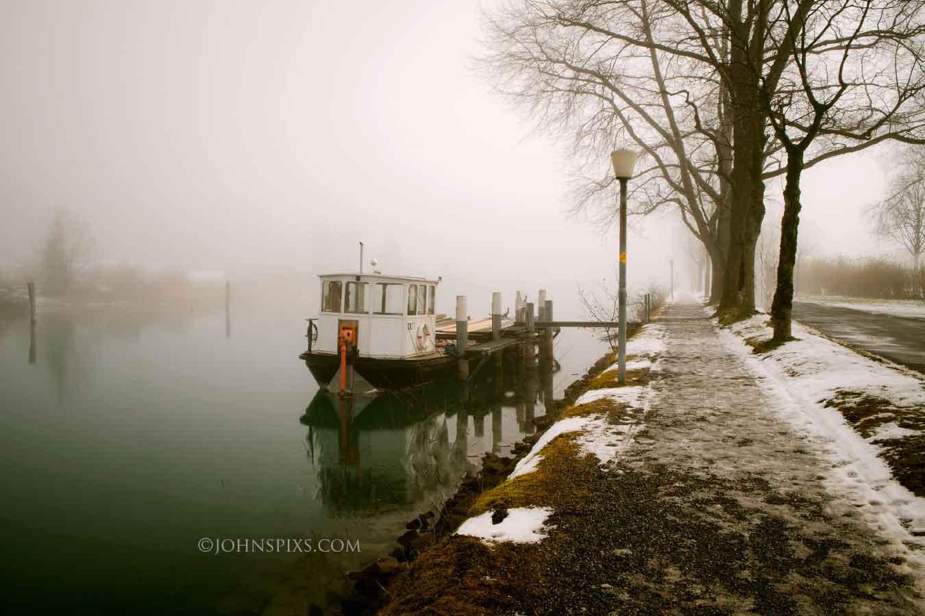 Misty Day in Interlaken, Switzerland