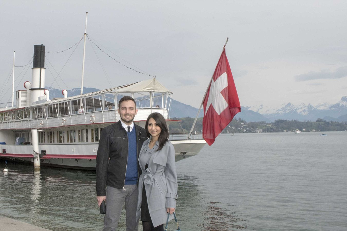 Engagement photo shoot in Lucerne