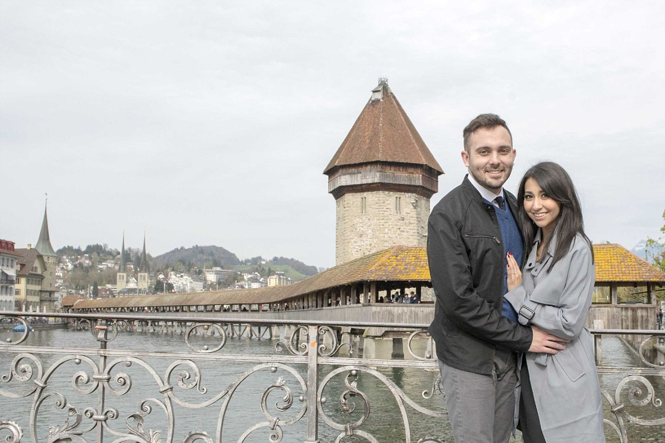 Engagement in Lucerne Switzerland