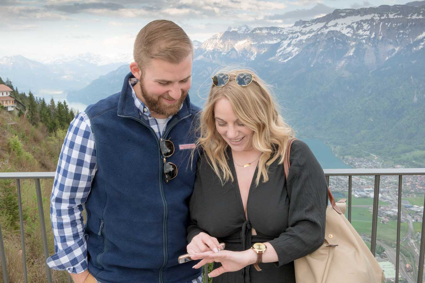 Surprise Engagement Interlaken