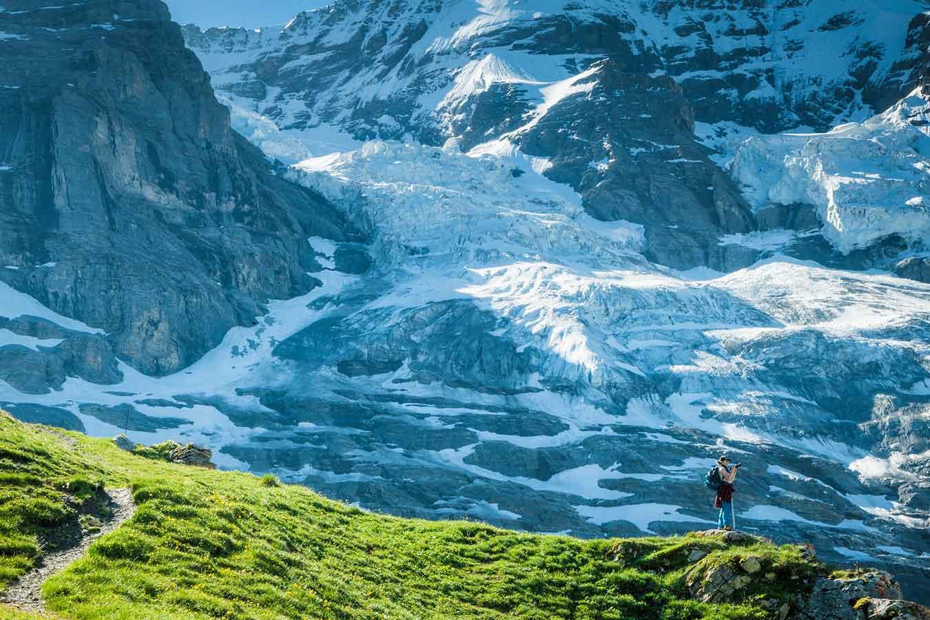 Eiger Glacier picture