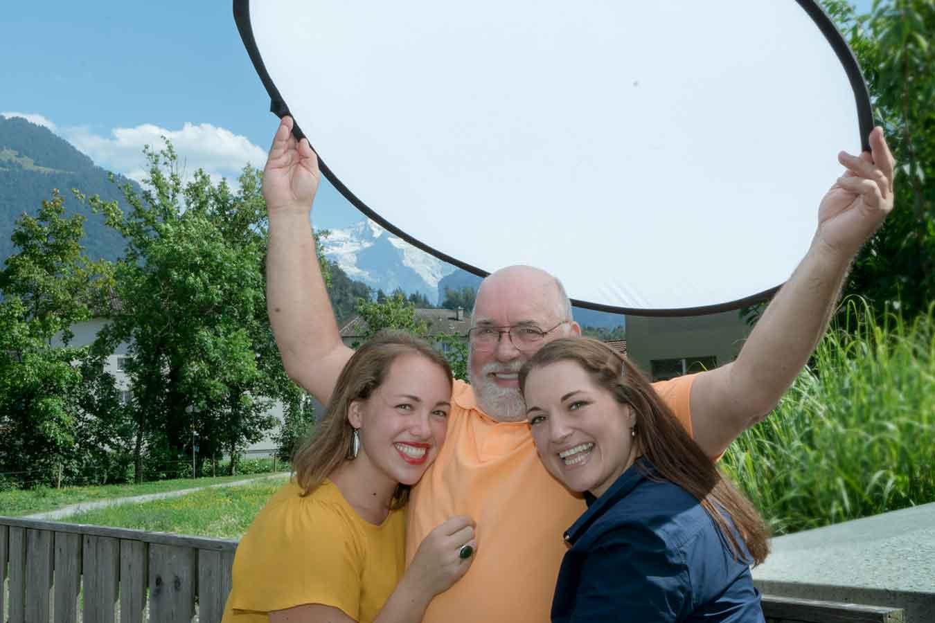 Family photo shoot Interlaken
