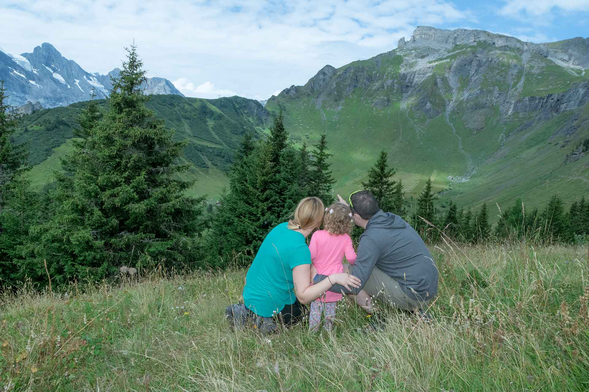 Family Photo Shoot in Mürren, Switzerland