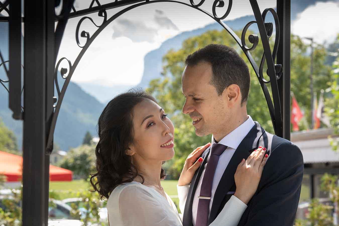 Civil Marriage Interlaken Switzerland