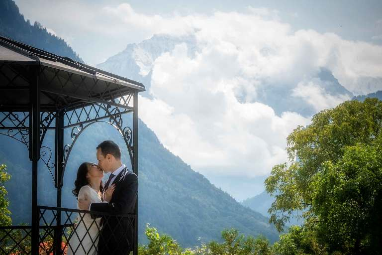 Civil Marriage Interlaken Switzerland