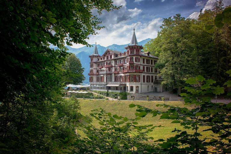 Civil Marriage in the Grand Hotel Giessbach