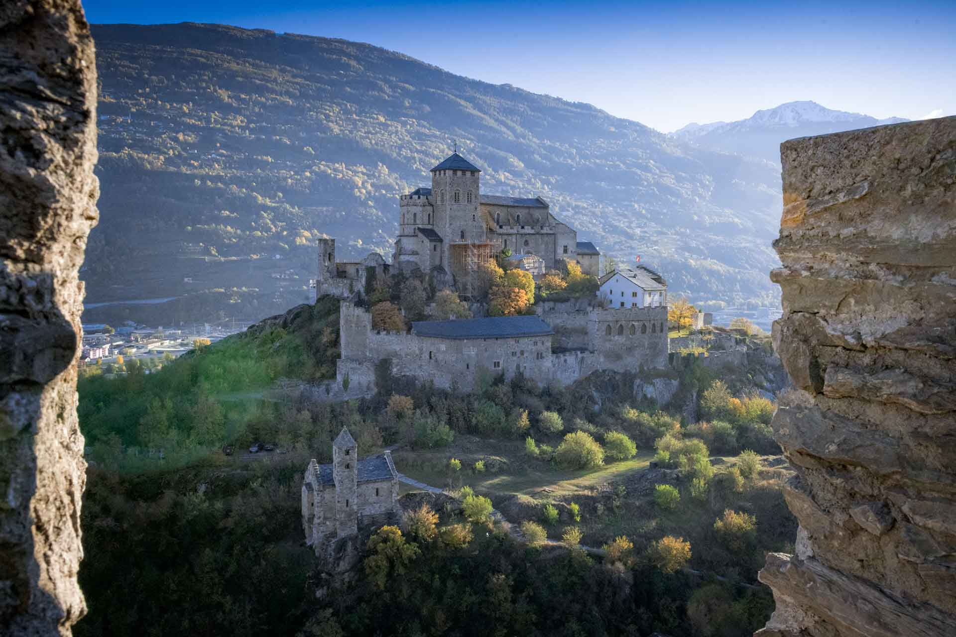 Valère castle in Sion.